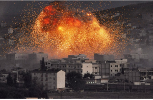 ISIS attack in Kobani, Syria