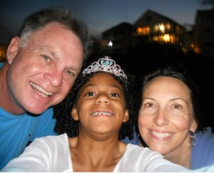 Jeff, Oceana and Olivia